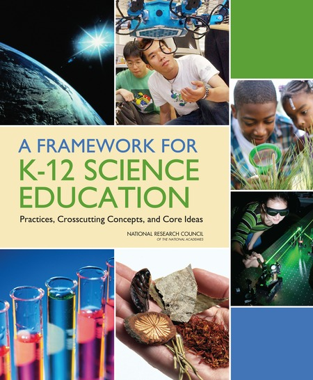 Cover of 'A Framework for K-12 Science Education'