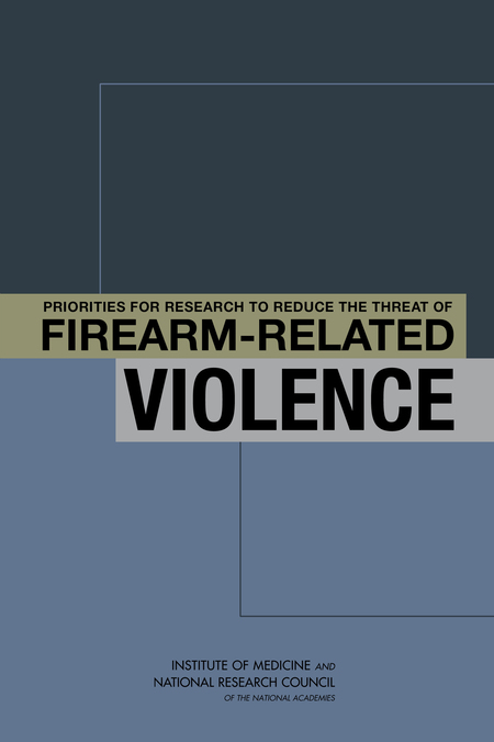 Cover of 'Priorities for Research to Reduce the Threat of Firearm-Related Violence'