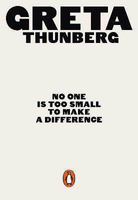 No One Is Too Small to Make a Difference bookcover
