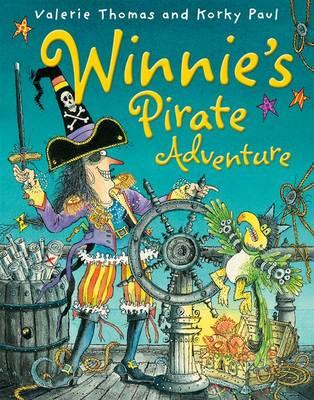 Winnie's Pirate Adventure by Valerie Thomas, and Korky Paul
