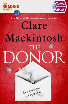 The Donor (Quick Reads) by Clare Mackintosh
