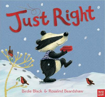 Just Right for Christmas by Birdie Black, and Rosalind Beardshaw