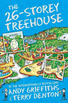 The 26-Storey Treehouse by Andy Griffiths, and Terry Denton