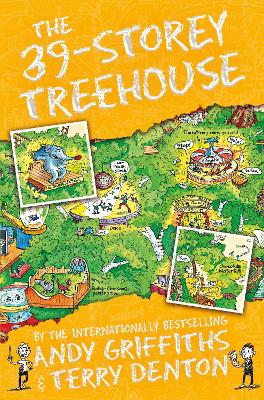The 39-Storey Treehouse by Andy Griffiths, and Terry Denton