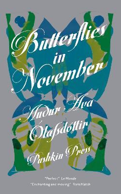 Butterflies in November by Audur Ava Olafsdottir (Author), and Brian FitzGibbon (Translator)