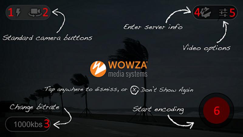wowza_gocoder main page...