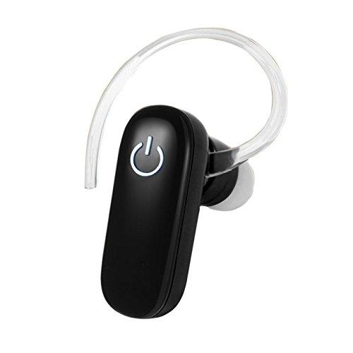 Vida IT BH119B Auricolare Bluetooth V3.0 Per il Cellulare Telephono Mobile - Suono di Alta Qualità (Nero)