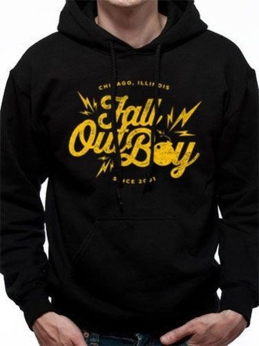 Fall Out Boy - Bomba - Pullover Con Cappuccio - XL - Nero