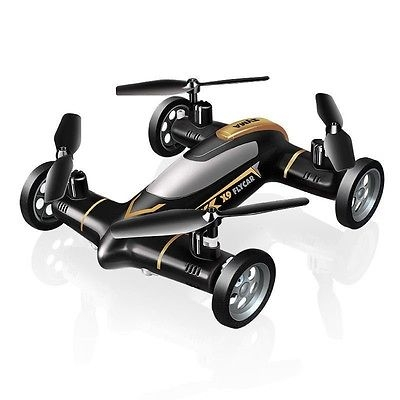 "Syma X9 FLYING CAR ""NERO"" drone auto radiocomandata RC"