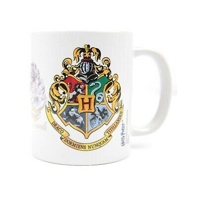 Harry Potter - Tazza in ceramica con lo stemma di Hogwarts (NS5072)