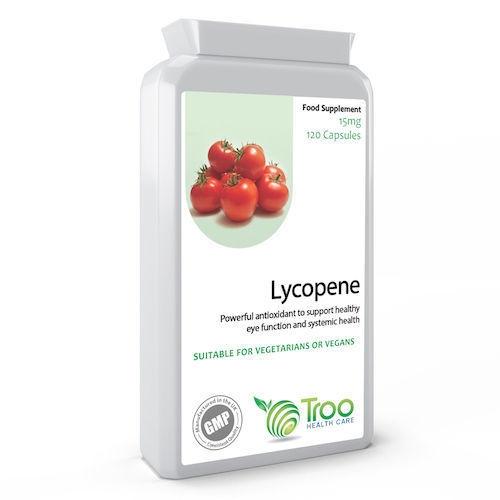 Lycopene 15mg 120 Capsules
