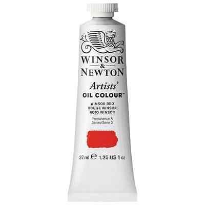 Colore all'Olio Vernice * Winsor & Newton Artisti' 2 37ml Winsor Rosso (726)