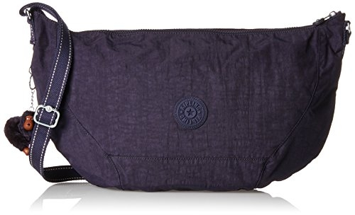 Kipling Nille - Borse a spalla Donna, Violett (Blue Purple C), 48x30x0.1 cm (B x H T)