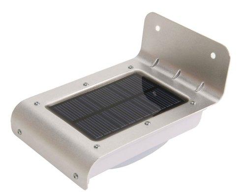 Lampada ad Energia Solare da esterno 16 Led - (Pannello solare)