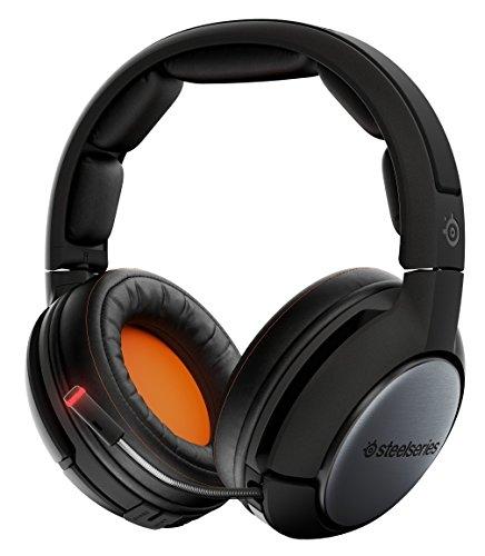 SteelSeries Siberia 840 - Cuffie da gioco, senza fili, Bluetooth, Dolby Surround 7.1, PC/Mac/Playstation 4/Dispositivi mobili/AppleTV/Roku