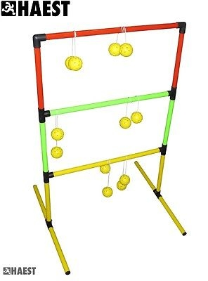 Leitergolf mit faltbarem Rahmen und 6 Bolas  Leiterngolf Leiter Golf