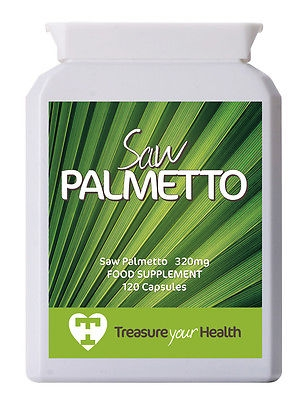 Saw Palmetto Oil, 120 x 320mg, Standardised to 85-95% Fatty Acids and Sterols