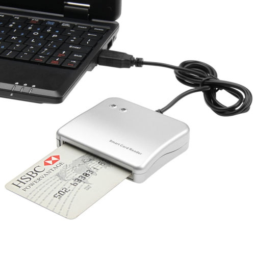 Easy Comm USB Smart Card Reader IC/ ID card Reader PC/SC Smart Card Reader