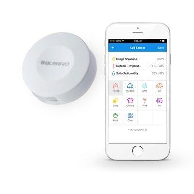 ELETTRONICA INKBIRD IBS-TH1 Mini Engbird Digital Wireless Bluetooth Thermometer