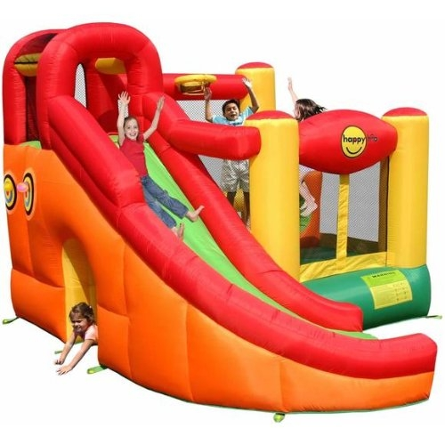 Castillo inflable 10 en 1 - 9106 Happy Hop