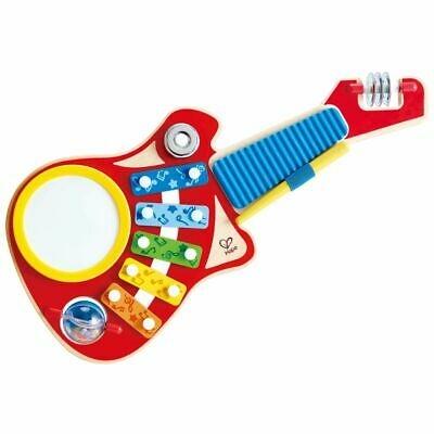 Hape Giocattolo Musicale 6 in 1 Chitarra Gioco Suoni Musica Strumento Bambini