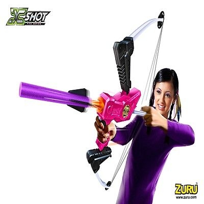 X-SHOT ANGEL FIRE BOW AND ARROW BLASTER FIRES UP TO 32 FEET *BRAND NEW & SEALED*