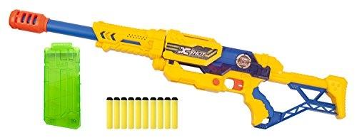 Zuru 10012791–X-Shot Max Attack Blaster con 10freccette, Sport Giocattolo, 70cm
