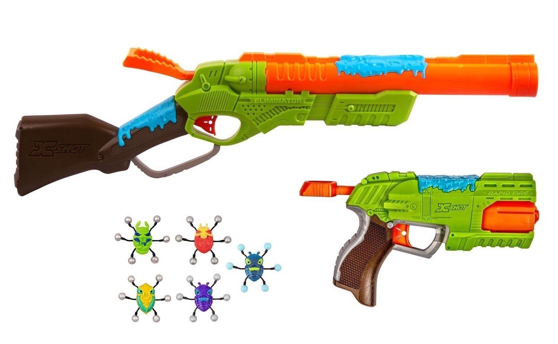 X-Shot Combinata Rapid & Eleminator Spielzeugblaster Dartblaster