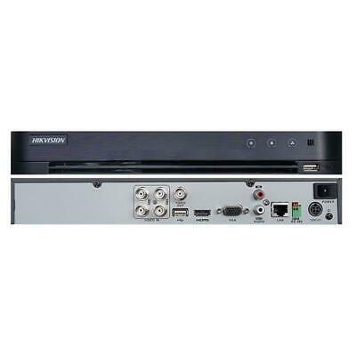 DVR HIKVISION DS-7204HQHI-K1 SISTEMA DI SICUREZZA A 4 CANALI ANALOGICI + 1 CANAL
