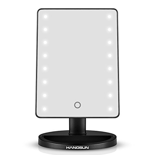 Hangsun LED Illuminated Cosmetic Mirror B90 Lighted Make Up Shaving Mirror