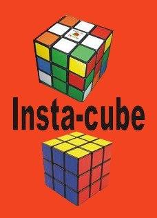 Cubo di Rubik risolto,giochi di prestigio,trucchi magia