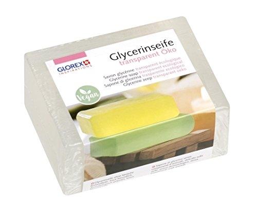 Glorex 61600, sapone eco in glicerina, trasparente, 500 g