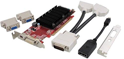 VisionTek 900456 Radeon HD6350 1GB GDDR3 graphics card - graphics cards (AMD, Radeon HD6350, 2560 x 1600 pixels, 650 MHz, 400 MHz, 2048 x 1536 pixels)