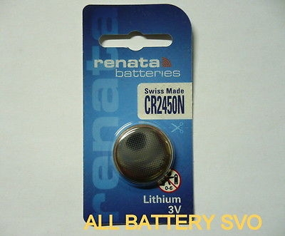 BATTERIA RENATA mod.CR 2450N DL 2450 LITIO 3V.