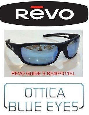 Occhiali da Sole REVO Sunglasses Polarized GUIDE S RE4070 11 BL Sonnenbrillen