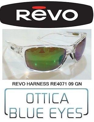 Occhiali da Sole REVO Sunglasses Polarized HARNESS RE4071 09 GN Sonnenbrillen RE