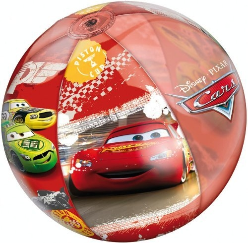 Logi Mondo - 16361 - Jeu de Plein Air - Ballon Gonflable Cars II