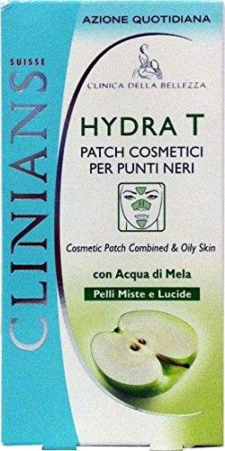 12 x CLINIANS Hydra-T Patch Cosmetici Per Punti Neri 8 Pezzi