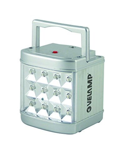 Velamp IR116LED Metalsafe Luce Anti Black Out con Trasformatore, 12 LED
