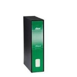 Rexel D26514 Dox 5 Registratore a Leva, Formato Protocollo, Confezione da 6, Verde
