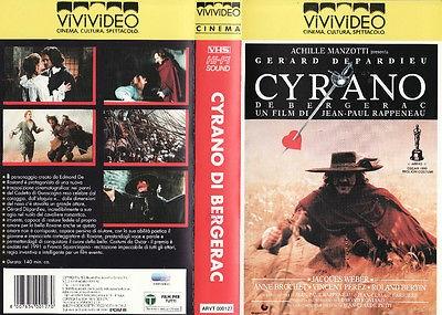 Cyrano de Bergerac (1990) VHS