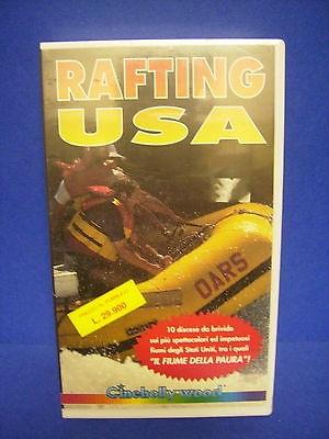 VHS- RAFTING USA-CINEHOLLYWOOD- NUOVA