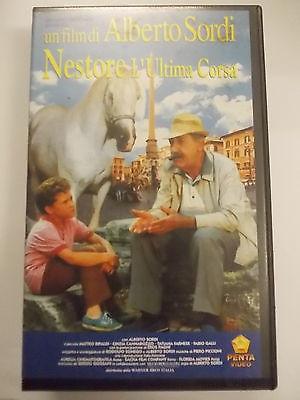 NESTORE L'ULTIMA CORSA  VHS USATA EX NOLEGGIO