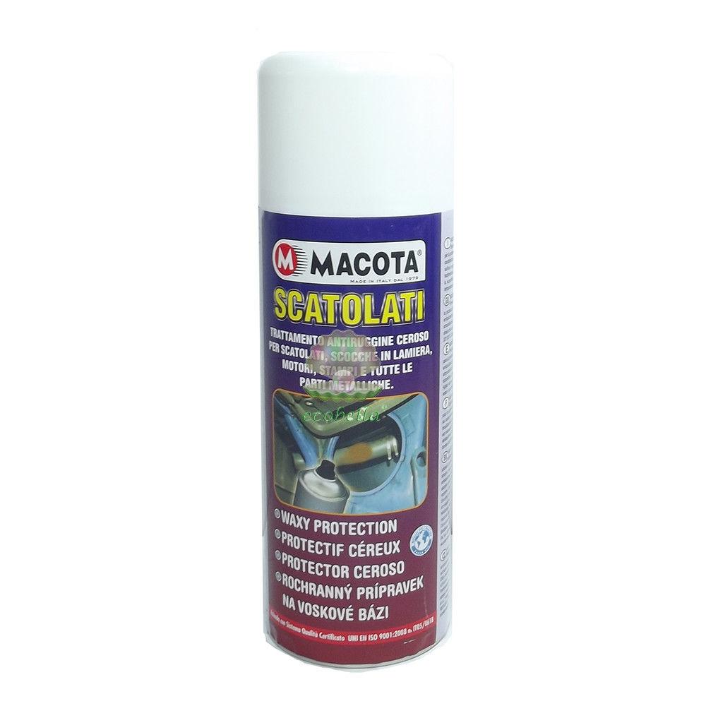 MACOTA SCATOLATI trattamento ANTIRUGGINE spray oer scocche motori lamiere Auto