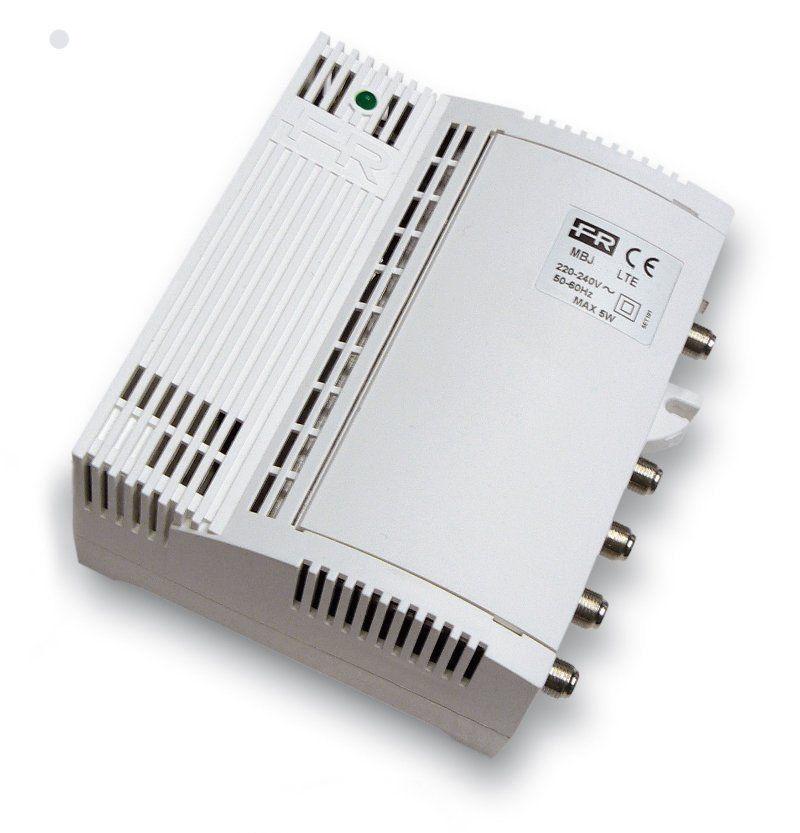 FRACARRO MBJ2340LTE CENTRALINO TV MISCELATORE E AMPLIFICATORE SEPARATO VHF E UHF