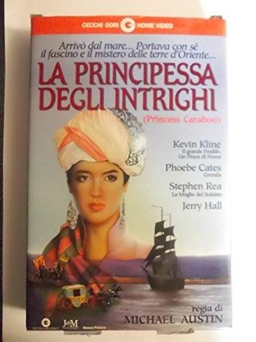 LA PRINCIPESSA DEGLI INTRIGHI VHS EX NOLEGGIO