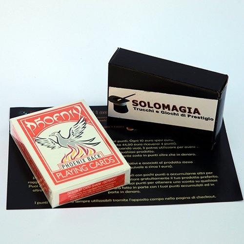 Mazzo di carte Phoenix Color Edition - Orange - con omaggio esclusivo firmato SOLOMAGIA