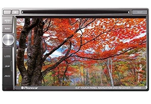 """Phonocar VM034 Media Station Led Digitale 6,8"""" Antiglare Bluetooth Modulo GPS integrato per sistema di navigazione"""