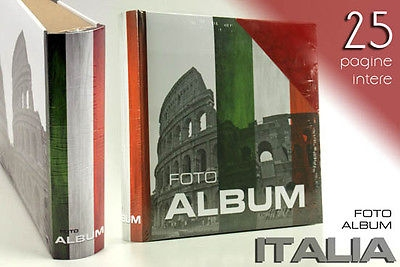 ALBUM PORTA FOTO FOTOALBUM ITALIA 25 FOTO FOT 588495