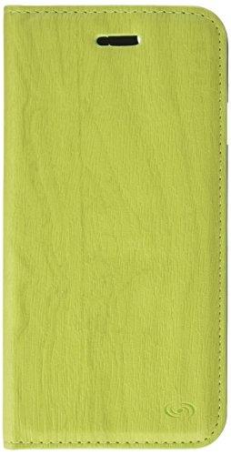 Fonex BOOKCL1005GR Classic Book Custodia a Libro In Ecopelle per iPhone 6/6S, Verde